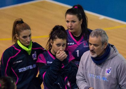Pallavolo femminile serie B1, Europea 92 sul campo del Casal de' Pazzi