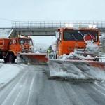 Neve, traffico bloccato sulla Trignina