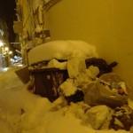 Campobasso, al lavoro per liberare le strade da neve e immondizia