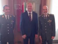 Il comandante dell'Italia Meridionale della Finanza ricevuto a Palazzo San Giorgio