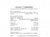 Sisma, 3.500 euro per la ricostruzione del teatro di Amatrice