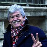Antonio Razzi esce dal Senat, 19 dicembre 2013 a Roma. ANSA/MASSIMO PERCOSSI
