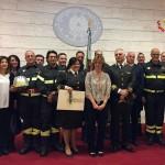 Vigili del fuoco, medaglia di bronzo al Comando provinciale di Campobasso