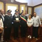 Il generale Tullio Del Sette riceve in dono le chiavi di Frosolone