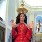 Campobasso, la statua della Libera torna a 'casa' dopo il sisma del 2015