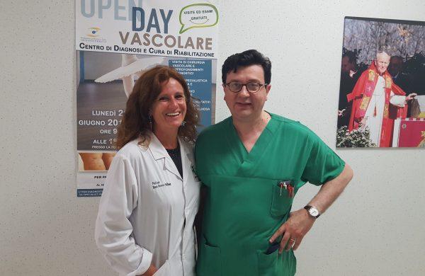 Primo Open day vascolare alla Cattolica, boom di richieste