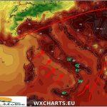 Lucifero infiamma la regione, temperature record fino al 10 agosto