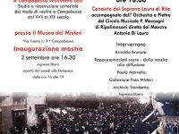 """Al Museo dei Misteri un tuffo nel passato con la mostra degli abiti d'epoca de """"La Mantigliana"""""""