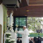 Madonna di Fatima, la statua benedetta da Papa Francesco arriva a Campobasso
