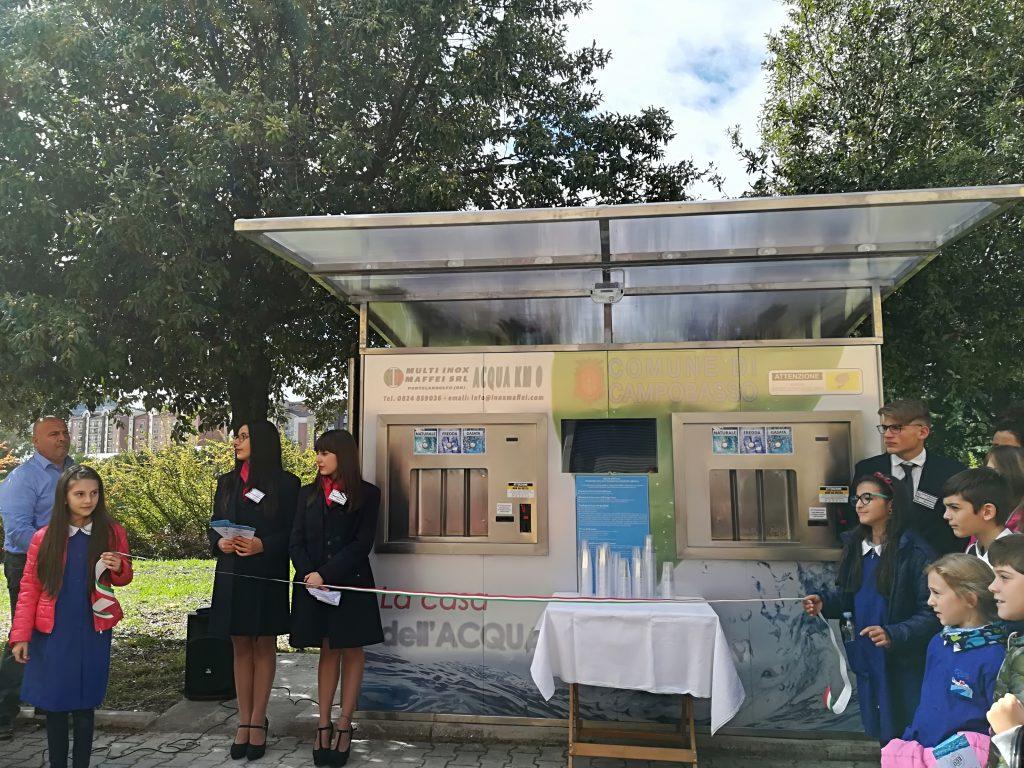 La Casa dell'Acqua a Campobasso è realtà, ieri il taglio del nastro
