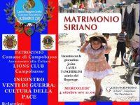 Venti di guerra: cultura della pace, l'evento al Romita di Campobasso