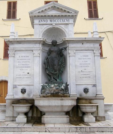 Fontana monumentale e Museo civico, fu festa grande a Baranello