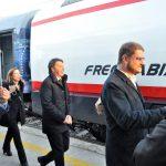 «Scusate il ritardo» Il treno di Matteo fa tappa a Venafro
