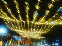 A Natale Riccia s'illumina per dare un messaggio di speranza