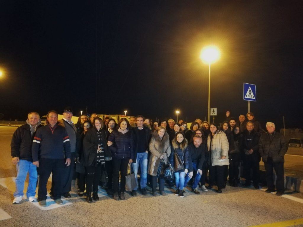 Delegazione di Cercemaggiore al Villaggio Coldiretti, viaggio tra i prodotti del made in Italy