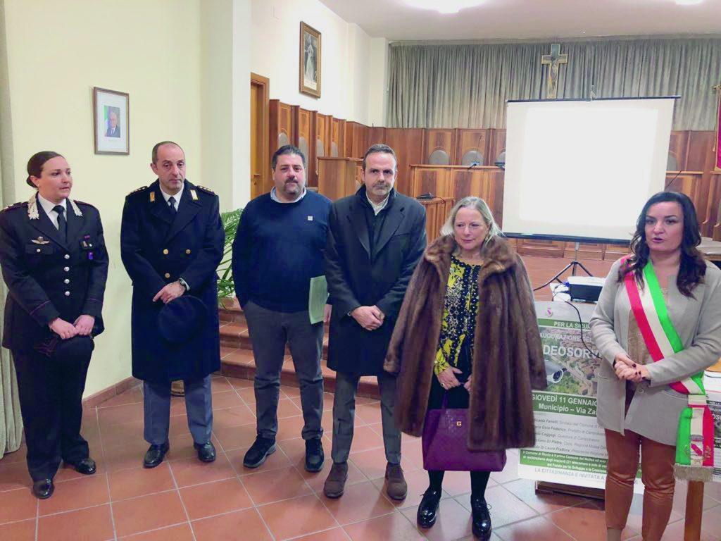 Videosorveglianza a Riccia, Fanelli: da oggi ovunque sicuri