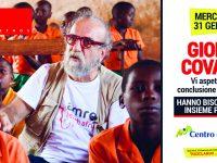 Giobbe Covatta al Centro del Molise di Campobasso per sostenere i bimbi dell'Africa