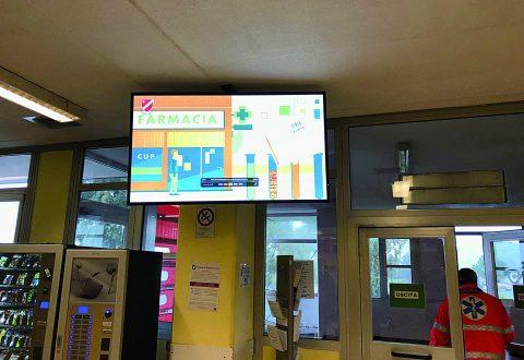 Pronto soccorso di Termoli, uno schermo per i tempi d'attesa