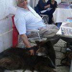 L'ultimo abbraccio a Giuseppe Cima, storico collezionista di Campobasso.
