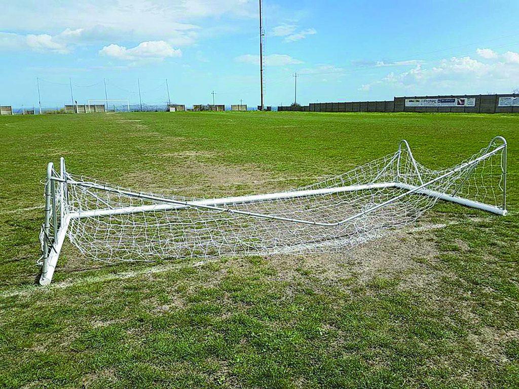 """Campomarino, atti vandalici al campo sportivo """"Santa Cristina"""""""