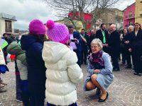 Gildone in festa per la ministra irlandese Katherine Zappone