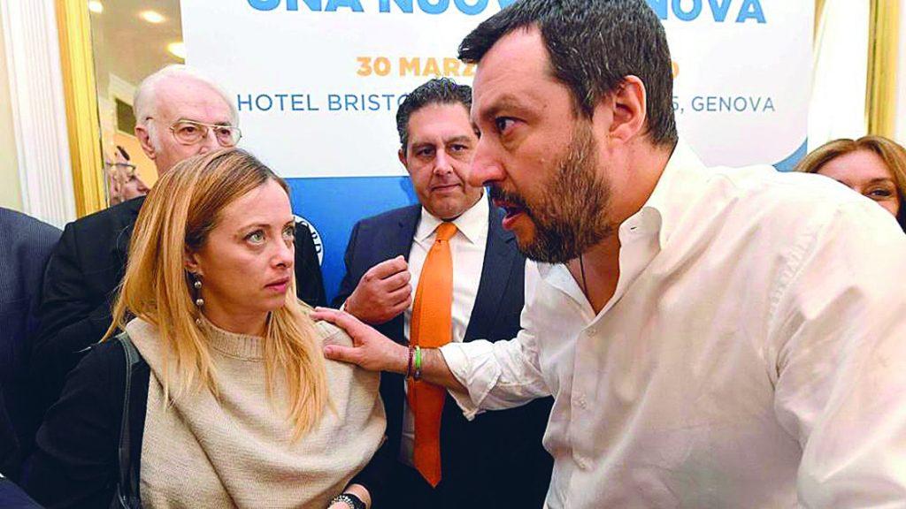 FdI e Lega chiudono ai transfughi «No agli ex del governo Frattura»