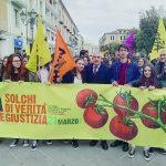 Campobasso, questore e studenti in marcia per ricordare le vittime di mafia