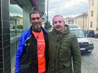 Isernia, il viandante di Emergency accolto in città dai volontari dell'associazione umanitaria