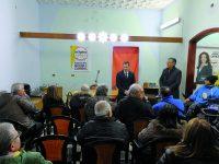 Regionali, Andrea Greco debutta a Venafro: daremo alla città l'attenzione che merita