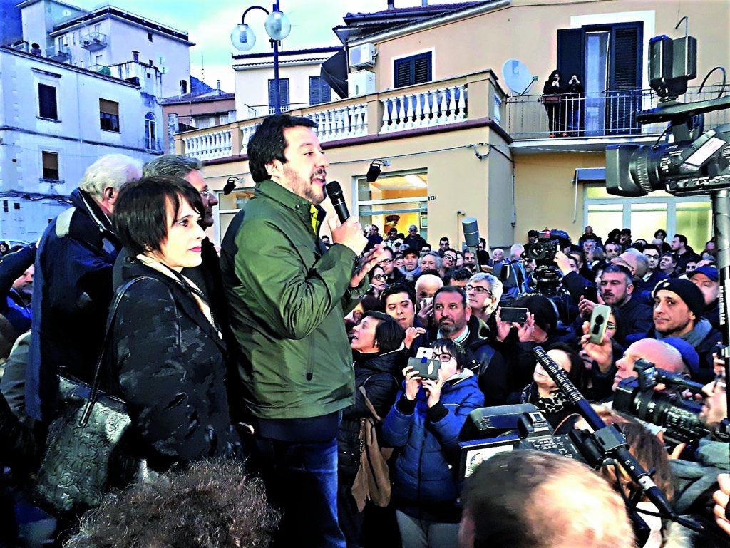 Salvini dice no al governo di scopo:torniamo alle urne