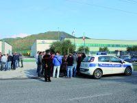 Sata Spa, operai di nuovo in protesta: presidio in Regione