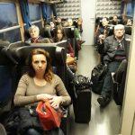 'Stretti come sardine', ancora disagi sulla tratta Campobasso-Napoli