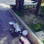 Sporcizia e degrado nella villa comunale di Isernia, riesplode la protesta