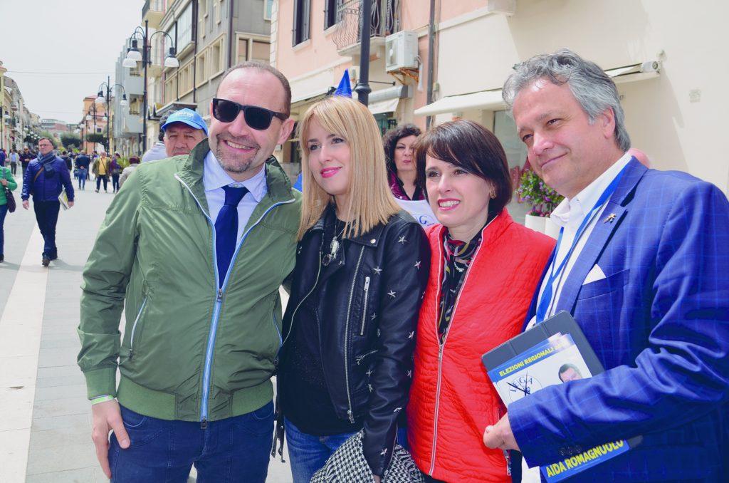Aida Romagnuolo cala il tris di parlamentari e oggi in Basso Molise arriva Salvini