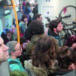 Il viaggio per Roma è sempre un'odissea: folla e disagi sul treno