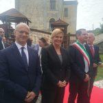 Grande accoglienza in Molise per la visita del Capo di Stato croato