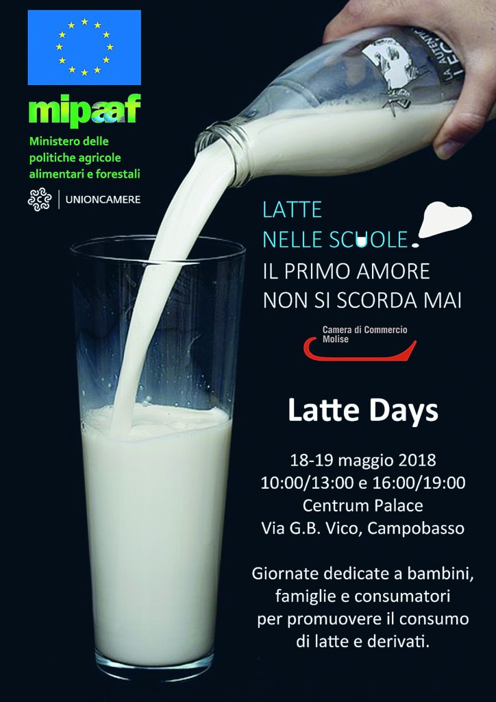 Latte days, a Campobasso la due giorni per rilanciare i prodotti caseari