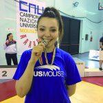 Campionati nazionali universitari, Sandonnini regala al Cus un argento