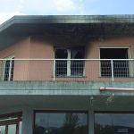 In fiamme il centro di accoglienza a Pescolanciano, Sacco: pronto a restituire la fascia tricolore