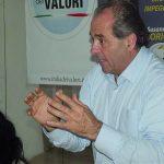 Di Pietro senior torna nell'Idv «Il centrosinistra va rifondato»