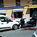 Scontro tra furgone e scooterone in via Colonia Giulia a Venafro, 50enne in gravi condizioni