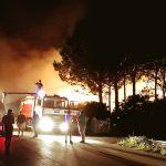 Venafro, incendio devasta azienda agricola