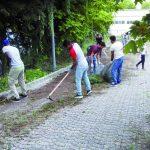 Il Comune latita, a Campobasso parco ripulito dai volontari
