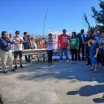 Limosano, strada chiusa da sei mesi: la protesta sul ponte crollato