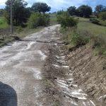 """A Limosano iniziati i lavori per sistemare la strada """"Passo di Campobasso"""""""