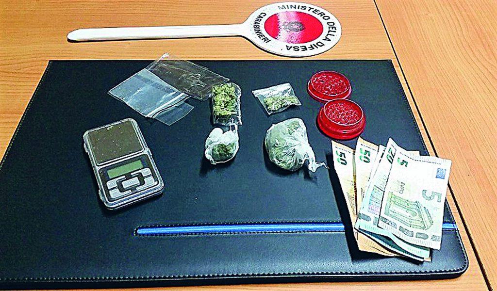 Allarme droga a Campobasso, nel fine settimana pizzicati 10 assuntori