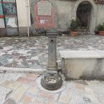 Bojano, rubato il rubinetto della fontana nella piazza di Civita