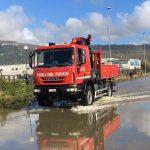 Una notte di paura nell'Isernino: l'acqua invade le strade e causa smottamenti