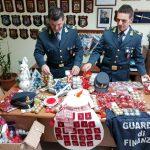 Termoli, addobbi natalizi pericolosi: è scattato il sequestro