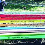 Campobasso, panchine e poesie per dire 'no' alla violenza sulle donne: oggi l'inaugurazione di Parco XXV Novembre